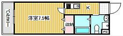 FDS amore[6階]の間取り