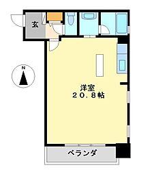泉アパートメント[2階]の間取り