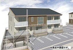 岡山県浅口市金光町占見丁目なしの賃貸アパートの外観