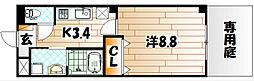 ソッジョルノ高田[2階]の間取り