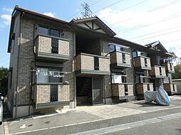 大阪府茨木市郡山2の賃貸アパートの外観