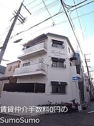 兵庫県神戸市中央区旗塚通1丁目の賃貸マンションの外観