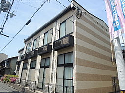 大阪府大阪市生野区鶴橋2丁目の賃貸アパートの外観