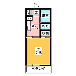 FIRST STAGE[2階]の間取り