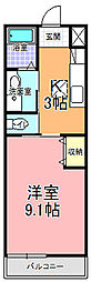 SAMURAI HITACHI[105号室]の間取り