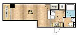 ラフォルトナ[2階]の間取り