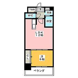 パルテンツァ2[6階]の間取り