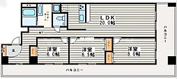 MTIマンション[5階]の間取り