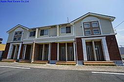 福岡県北九州市八幡西区本城学研台3丁目の賃貸アパートの外観