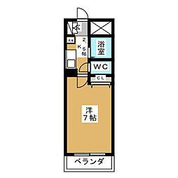 グロース21[2階]の間取り