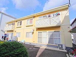 広島県広島市安佐南区山本2丁目の賃貸アパートの外観