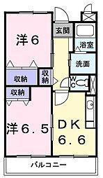 アヴェニュー K[0302号室]の間取り