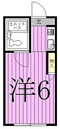 Casa Fresco[201号室]の間取り