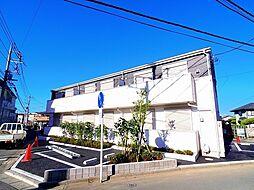 埼玉県ふじみ野市東久保1丁目の賃貸アパートの外観