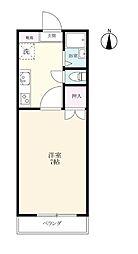 マルシュ江島[101号室]の間取り
