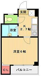 栄興ビル[202号室号室]の間取り