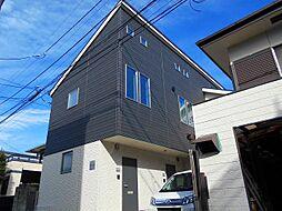 東京都立川市高松町1丁目の賃貸アパートの外観