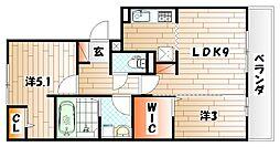 桜橋山荘[1階]の間取り