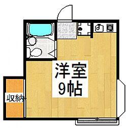 ビラーアキ[2階]の間取り