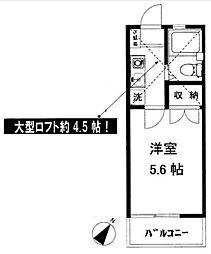 辻堂ニューエスタ21[107号室]の間取り