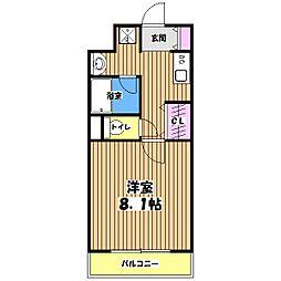 アーク・フレア[3階]の間取り