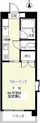 ウイングコート弐番館[4階]の間取り