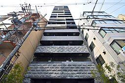 プレサンス上町台クレスト[13階]の外観