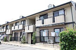 岡山県倉敷市玉島阿賀崎1の賃貸アパートの外観