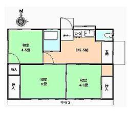 [一戸建] 東京都狛江市駒井町2丁目 の賃貸【/】の間取り