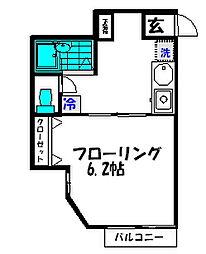 フェアリーティルII[1階]の間取り