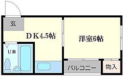 ドリーマー21[3階]の間取り