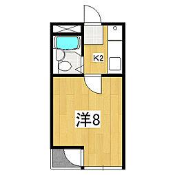 ビラ・アベックス京都竹田[4階]の間取り