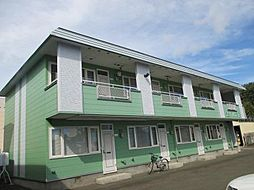 ラピュタハウスB[B25号室]の外観