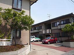 京都府京都市左京区岩倉東宮田町の賃貸アパートの外観