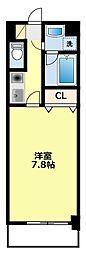ヴァンクール豊田[405号室]の間取り