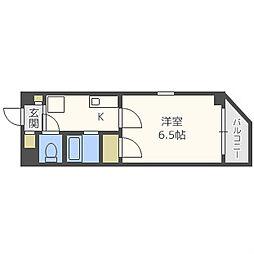 プレミアム堀江[3階]の間取り