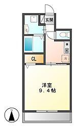 アベニュー笠寺[2階]の間取り