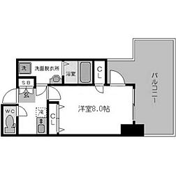 For Realize BLDG[8階]の間取り