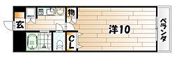 シティルーム中井III[2階]の間取り