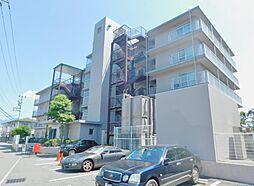山梨県甲府市酒折3丁目の賃貸マンションの外観