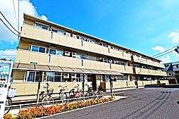 埼玉県越谷市越ヶ谷本町の賃貸アパートの外観