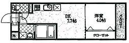 トレステーラルーメ吉富[301号室]の間取り