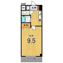 Condominio531[205号室]の間取り