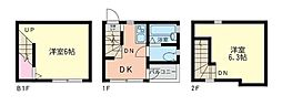 [テラスハウス] 神奈川県横浜市都筑区南山田町 の賃貸【/】の間取り