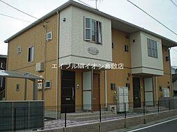 岡山県倉敷市浜ノ茶屋1丁目の賃貸アパートの外観