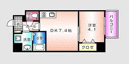 KATAYAMA BLDG  24[1002号室]の間取り