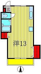 五香サンロードス[3階]の間取り