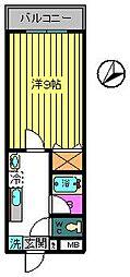 メゾン・ド・ノア美幸[2階]の間取り