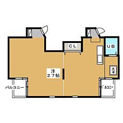 A2ビル[2階]の間取り