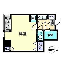 香川県高松市錦町1の賃貸マンションの間取り